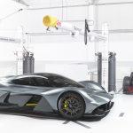 Aston Martin Valkyrie con RB