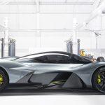 Aston Martin Valkyrie fianco