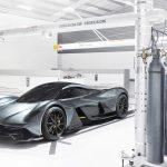 Aston Martin Valkyrie tre quarti 2