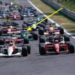 partenza Spa F1 1991