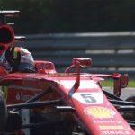arrivo Vettel 2