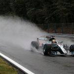 Hamilton Monza bagnato