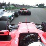 Vettel ruotata