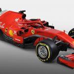 Ferrari F1 tre quarti