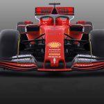 Ferrari fronte no scritte