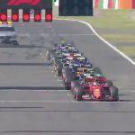 partenza GP Giappone 3