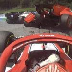 Lecerc Vettel crash 1 bis